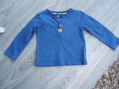 Baby Boys  Navy  Long Sleeve Tshirt Size 12-18 Months