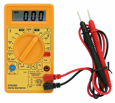 Multimeter digital voltmeter ammeter ohmmeter tester electric digital