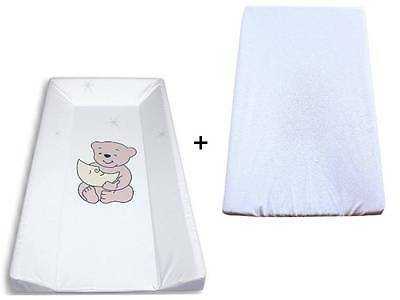 Changing table / Wrap board / Changing mat Phtalanfrei + Terry cloth cover white