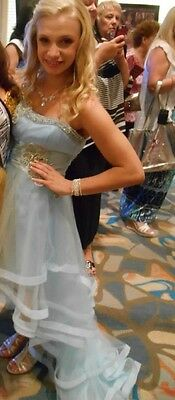 SHERRI HILL DRESS HIGH-LOW SIZE 2- Prom Pageant
