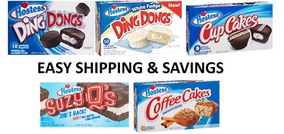 Hostess Snack Products Pack of 2 Per order Donuts Cakes Pies Mix Match Cheap