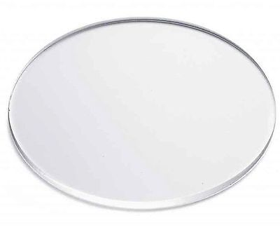 """Clear Acrylic Disc's 1/8"""" Thick 1-1/2"""" diameter (Pack of 25)"""