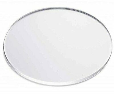 """Clear Acrylic Disc's 1/8"""" Thick 1-1/4"""" diameter (Pack of 25)"""