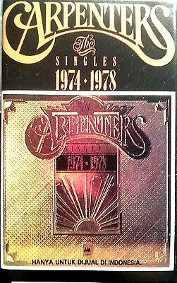 The Carpenters Cassette Tape Singles 1974-1978 Free Post Within Australia