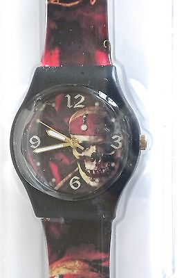 Disney Time Works PIRATES of the CARIBBEAN Wrist Watch  NEW In Case