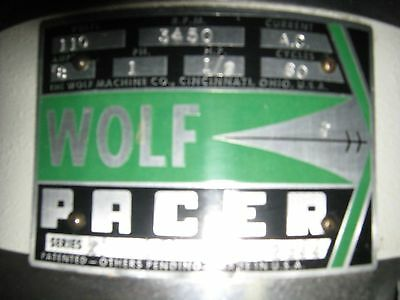 "Wolf Pacer 7"" Blade Straight Knife Fabric Cutter Cutting Machine"