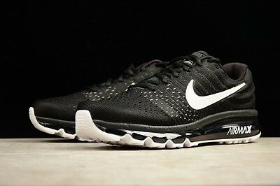 NEW Nike Air Max 2017 Men Trainers Running Shoes Sneakers Black