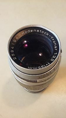 Vintage Rodenstock Yronar 1:3,5 f=135mm A 2594194 Two Piece Camera Lens Used