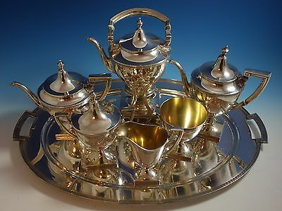 Etruscan by Gorham Sterling Silver Tea Set 7pc (#1494)