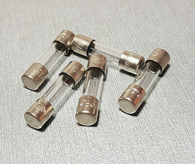 1A Glass Fuse M205 5x20mm Fast Blow 250V Pack of 10