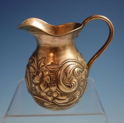 Repousse by Frank Whiting Sterling Silver Creamer #185 (#1497)