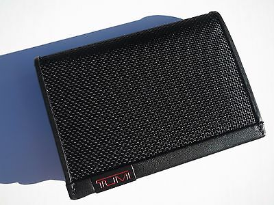 New! Tumi Alpha Gusseted Business Card Credit Card / ID Case / Wallet 019256D