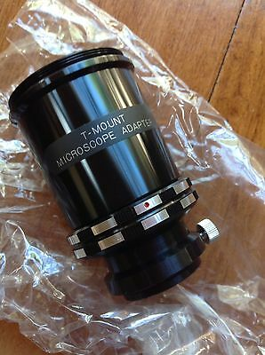 T-mount Microscope Adapter For Camera. New In Box