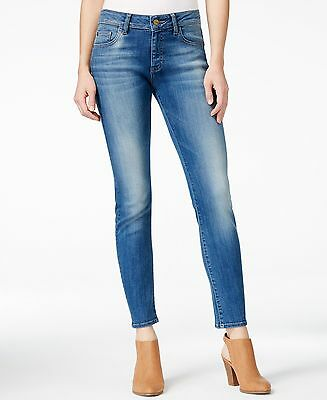 m1858 NEW Blue Womens Size 4 Megan Skinny Ankle Capri Cropped Jeans $89 360