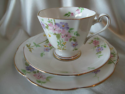 Roslyn Delicate Hand Painted Trio Pattern Number 3424 C.1930