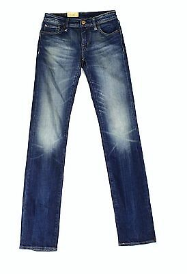 Denim&Supply Ralph Lauren NEW Blue Womens Size 25x32 Straight Leg Jeans $89 362