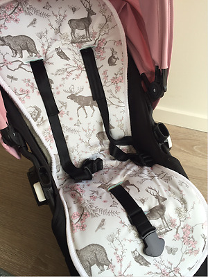 Reversible All Weather Pram Stroller Liner fit Bugaboo,Icandy, City Select,Joolz