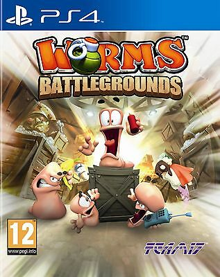 Worms Battlegrounds PS4 Playstation 4 Game Brand New In Stock From Brisbane