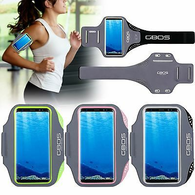 GBOS® Armband For Samsung Galaxy S8 With Adjustable Sports Gym Jogging Exercise