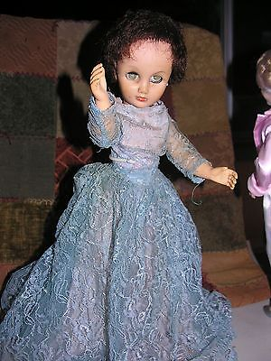 "1953 American Character Sweet Sue doll, 18""  beautiful dress, sleep eyes"