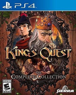 King's Quest: The Complete Collection PS4 Playstation 4 Game Brand New In Stock