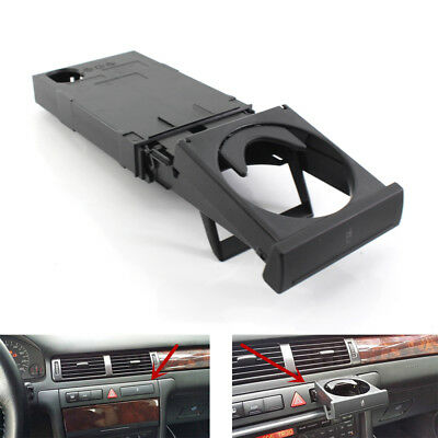 Black Folding Stretch Cup Holder Stand Fits for AUDI A6 C5 A4 98-02 4B0862534D