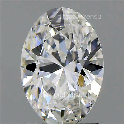 Diamond Oval Moissanite loose with Best Cut 11mmx9mm I-J