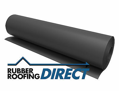 1m to 5.5m Wide EPDM Rubber Roofing Membranes for Flat Roofs | Classicbond
