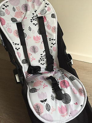 Reversible All Weather Wool Memory Foam Pram Liner Bugaboo,Icandy,Uppababy,valco