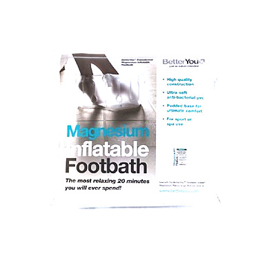 Better You Inflatable Magnesium Footbath New  _______________________