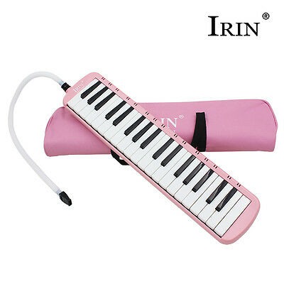 Great 37 Key Pink Melodica & Deluxe Carrying Case
