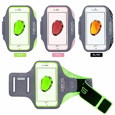 GBOS® Gym Adjustable Armband Case For iPhone 7 Running Jogging Exercise Workout