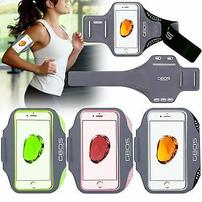 GBOS® Gym Adjustable Armband For iPhone 7 Plus Running Jogging Exercise Workout