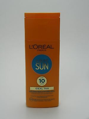 L'oreal Sublime Sun Golden Beautifying Milk Sun Protection Lotion SPF 10 200ml