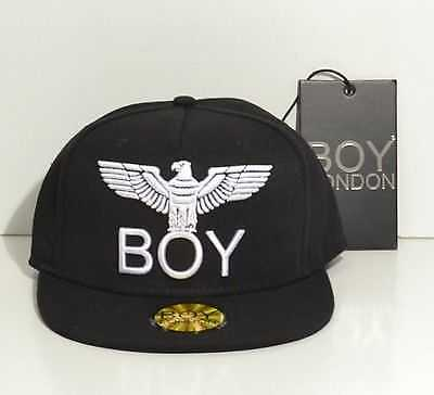 Boy London, Cappello Con Visiera,CABL020,1000, nero