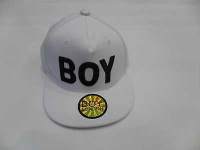Boy London, Cappello Con Visiera,CABL021,100, bianco