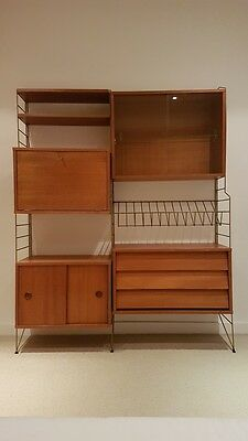 1960s Shelving System by Brianco    (Ladderax/String style)