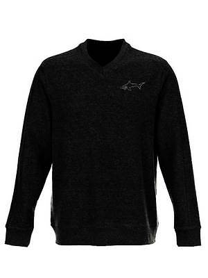 Greg Norman V-Neck Sweater - Black