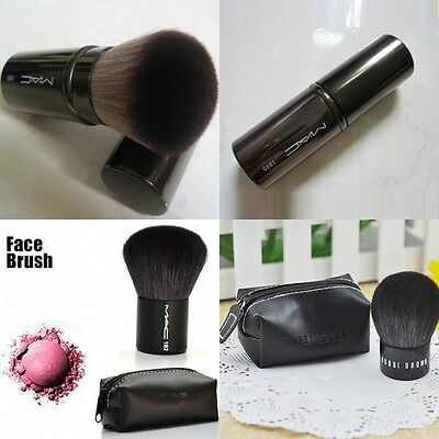 Bobby Brown Face Kabuki Powder Contour Make Up Brush Tool Pro Flat New Brand Kit