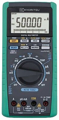NEW KYORITSU KEW1062 Digital Multimeter High Accuracy Performance Fast Shipping