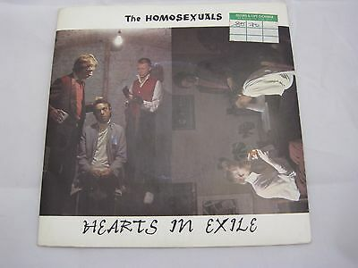 THE HOMOSEXUALS Hearts in Exile UK 1978 kbd post punk