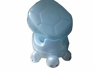 2 in1Turtle Tortoise Potty Stool Step for Baby Toilet PottyTraining  With Lid BL