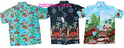 Hawaiian Shirt Beach Party Boys Girls Kids Children palm tree Party Fancy dress