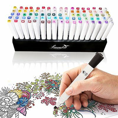 85 Holes Pen Holder Brush Organizer for 80 Color Touch New Five Twin Tip Markers