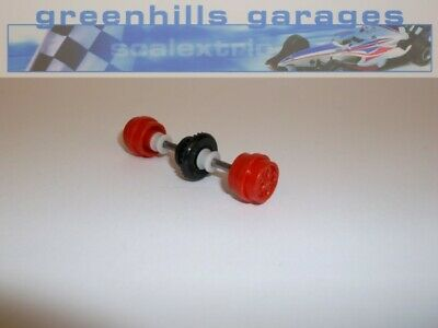 Greenhills Scalextric Ford Escort XR3i Red Rear Axle & Wheels – Used P575