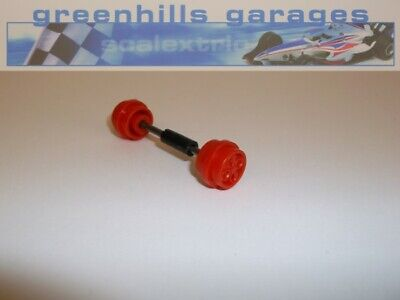 Greenhills Scalextric Ford Escort XR3i Red Front Axle & Wheels – Used P574