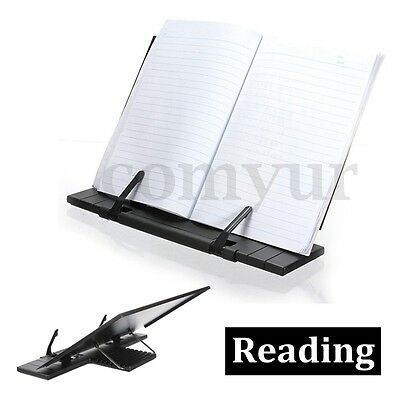 Reading Rest Stand Kitchen Cookery Cook Music Book Recipe Holder Steel + Plastic