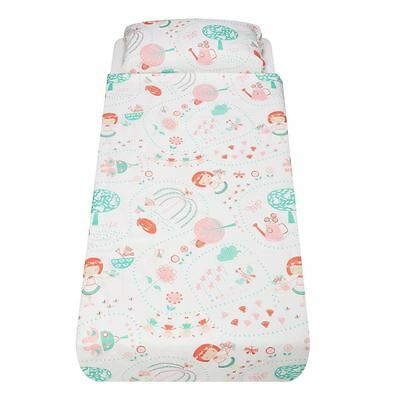 Mary Mary Cot-Bed/Pillow Set by The Gro Company Gro-to-Bed 100% Premium Cotton