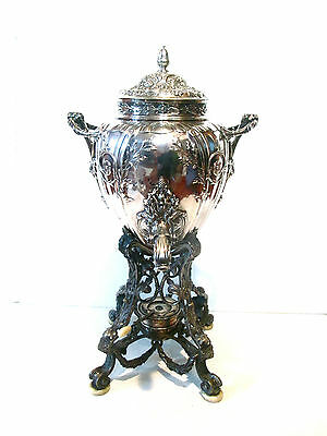Antique French Silver Samovar,hand Made In Early 19 Century,magnificent Quality