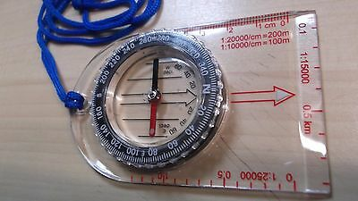 Craghoppers Field Compass Travel Hiking Dry Walk Map Reading Directions